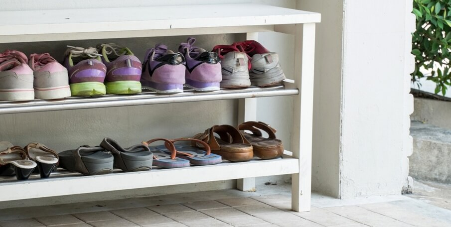 When Shoe Storage Becomes a Storage War