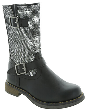JJ Balleto Black Boots